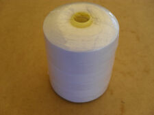 30 GRADE COTTON WHITE 1500 METERS IDEAL FOR INDUSTRIAL WALKING FOOT MACHINES