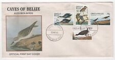 1985 CAYES OF BELIZE First Day Cover AUDUBON BIRDS