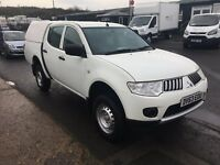 2013 / 63 Mitsubishi L200 4Work LWB Double Cab DI-D 4x4 Pick Up