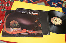 RICCARDO ZAPPA LP CHATKA ORIG ITALY 1978 EX PROG EXPERIMENTAL ROCK