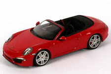 1:43 Porsche 911 Carrera Cabriolet 991 2011 indisch-rot red - Dealer-Edition OEM