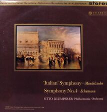 Mendelssohn - Schumann  Symphonies Otto Klemperer LP - Columbia SAX 2398