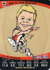 2011 Teamcoach Magic Wild-14 Nick Riewoldt St Kilda