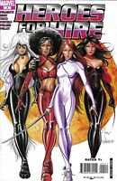 Heroes For Hire Comic 4 Cover A First Print 2007 Jimmy Palmiotti Justin Gray DC