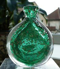 Älteres Schnupftabakglas Grün mit silbernen Glitzereinschmelzungen !!! Nr. 125