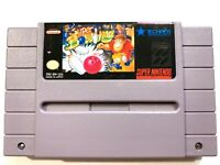 Super Bowling NINTENDO SNES Game Tested + Working & Authentic!