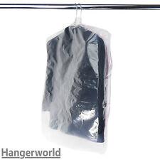 Hangerworld™ 15 Housses solides polyéthylène transparent pour chemises 96.5cm