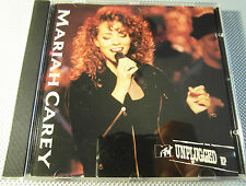 Mariah Carey - MTV Unplugged (Live Recording ) ( CD Album 1992 ) Used very good