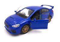 Subaru WRX STI Modellauto Auto LIZENZPRODUKT 1:34-1:39 verschiedene Farben