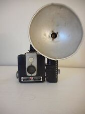 Kodak Brownie Hawkeye Box Camera Flash Model with Flashholder Bakelite body