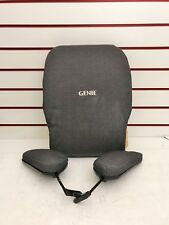 GENIE STANDUP ELECTRIC WHEELCHAIR REAR SEAT BACK + LATERAL SUPPORTS GOOD ORDER