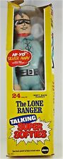 "Mego 1974 The Lone Ranger Talking Super Softies 24"" Voice Box Works"