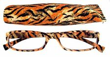 Mr.Reading Glasses [+3.50] 1 Plastic Frame Animal Design Reader Match Pouch 3.50