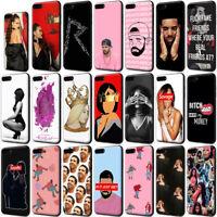 Rapper Drake Rihanna Nicki Minaj Black TPU Case for iPhone XS Max X 8 7 6s Plus