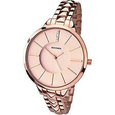 Sekonda Editions Rose Gold Bracelet Ladies Watch 2015 RRP £59.99