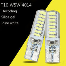 2x T10 W5W 16SMD 4014 LED Canbus Silice License Plate Lampe Ampoule Blanc 6000K