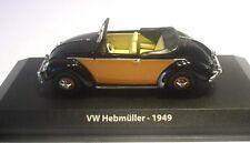 Norev  1/43  VW Volkswagen Coccinelle Hebmüller 1949 Cabriolet + Box 840010