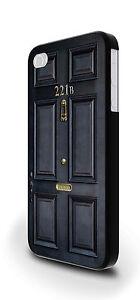 221b Baker Street Sherlock Holmes Cover Case for iPhone 4/4s 5/5s 5c 6 6 Plus