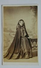 CDV: Portrait of a Finely Dressed Lady. By G. E. Alder. Cheltenham. 1860s