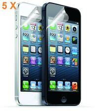 5 X High Quality Ultra Clear Screen Protector for New IPhone 5