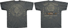 Tony Stewart 2015 Checkered Flag #14 Bass Pro Shops Vintage Total Print Tee FREE