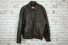 Angelo Litrico Brown Leather Jacket Chest size 48""
