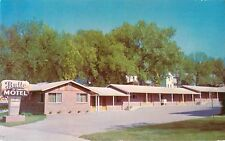 c1950s Butte Motel, Wray, Colorado Postcard