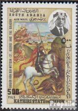 Aden - Kathiri Toestand 224A (compleet.Kwestie.) postfris MNH 1968 Heilige. Geor