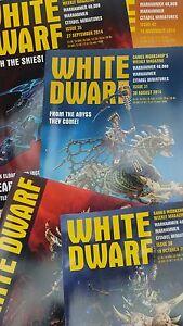 White Dwarf Weekly Warhammer Magazine - Back issues - # 22 (2014) to 73 (2015)