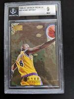 KOBE BRYANT 1996-97 SkyBox Premium #55 Rookie Card RC BGS 9 Gem Mint Lakers HOF