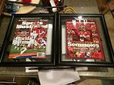 Framed James Winston & Kelvin Benjamin Sports Illustrated Fsu Seminoles Champion
