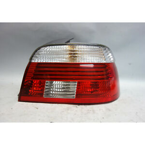 Damaged BMW E39 5-Series Right Rear Tail Light Lens White Clear 2001-2003 OEM