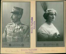 Vintage photograph of Portrait by Prince Harald and by Princess Helene