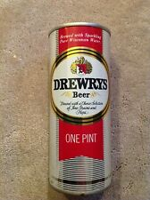 Drewrys Beer 16 Oz Ounce Pint Size Half Quart Pull Top Pull Tab Beer Can