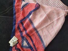 Nuevo lunares scarft, Rojo Blanco y Azul, de Bershka, Suave Verano Bufanda De Cuello