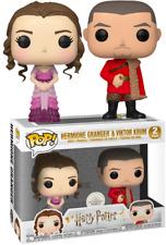 Harry Potter Hermione Granger & Viktor Krum Funko Pop Vinyls New in Boxes