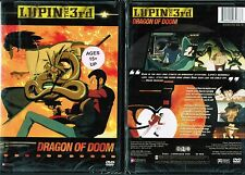Lupin The 3rd Dragon of Doom Uncut New Anime DVD Funimation release