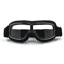Motorcycle Eyewear Goggles Aviator Pilot Glasses Retro Helmet Driving Riding
