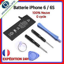 Batterie iPhone 6 / 6S Interne 100% Neuve 0 Cycle + Outil original