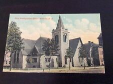 First Presbyterian Church Millville, New Jersey Postcard  1920
