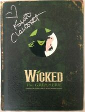 Signed 1st Edition of Wicked The Grimmerie by Kristin Chenoweth