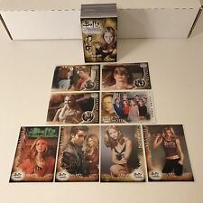 BUFFY THE VAMPIRE SLAYER THE 10th ANNIVERSARY (2007) Complete Trading Card Set