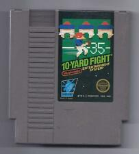 Vintage Nintendo 10 Yard Fight Video Game NES Cartriage VHTF