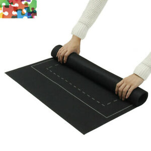 Kids Jigsaw Felt Storage Mat Roll Up Puzzle Game Blanket For Up To 1500 Pieces
