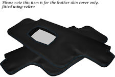 BLUE STITCHING FITS PORSCHE 911 912 1967-1968 2X SUN VISORS LEATHER COVERS ONLY