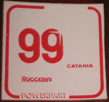 "Adesivi Anni ' 80 "" RUGGERINI POWERPART """