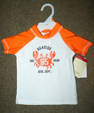OshKosh B'gosh boys' rush guard size 12mos NWT