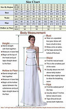 FREE P&P Women's Wedding Party Beautiful Evening Formal Prom Ball Long Dresses