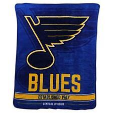 "St. Louis Blues Super Plush Fleece Throw Blanket (46"" x 60"")"