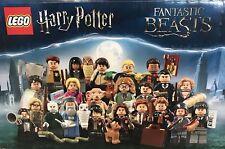 COMPLETE SET of 22 - LEGO Harry Potter Fantastic Beasts Series Minifigures 71022